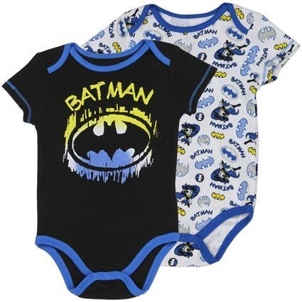 Adorable Newborn Batman 2pc Onesies, sizes 0/3, 3/6,6/9 months