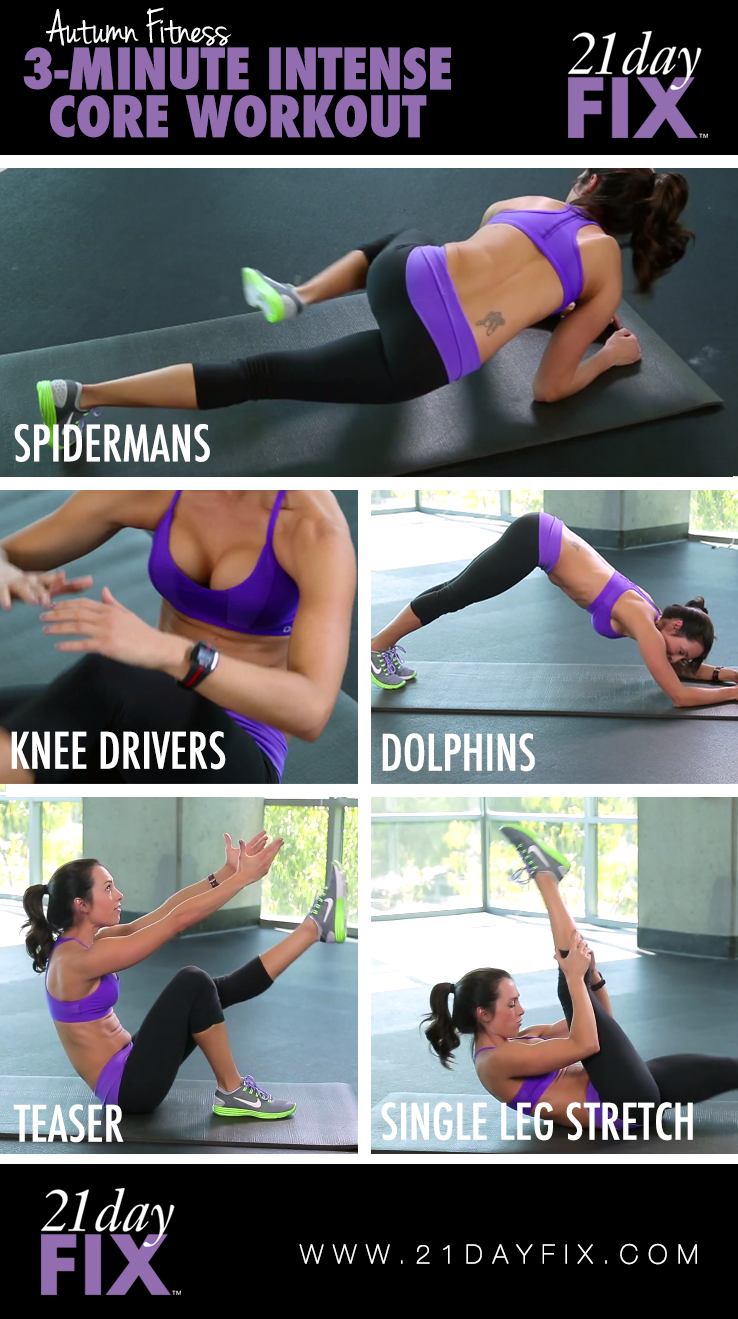 3 Minute Core Workout   21 Day Fix   For full video visit Autumn Fitness on YouTube (or click on the image).