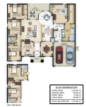 Rockingham Ii Southern Homes Of Polk County Southern Homes Floor Plans Free Floor Plans