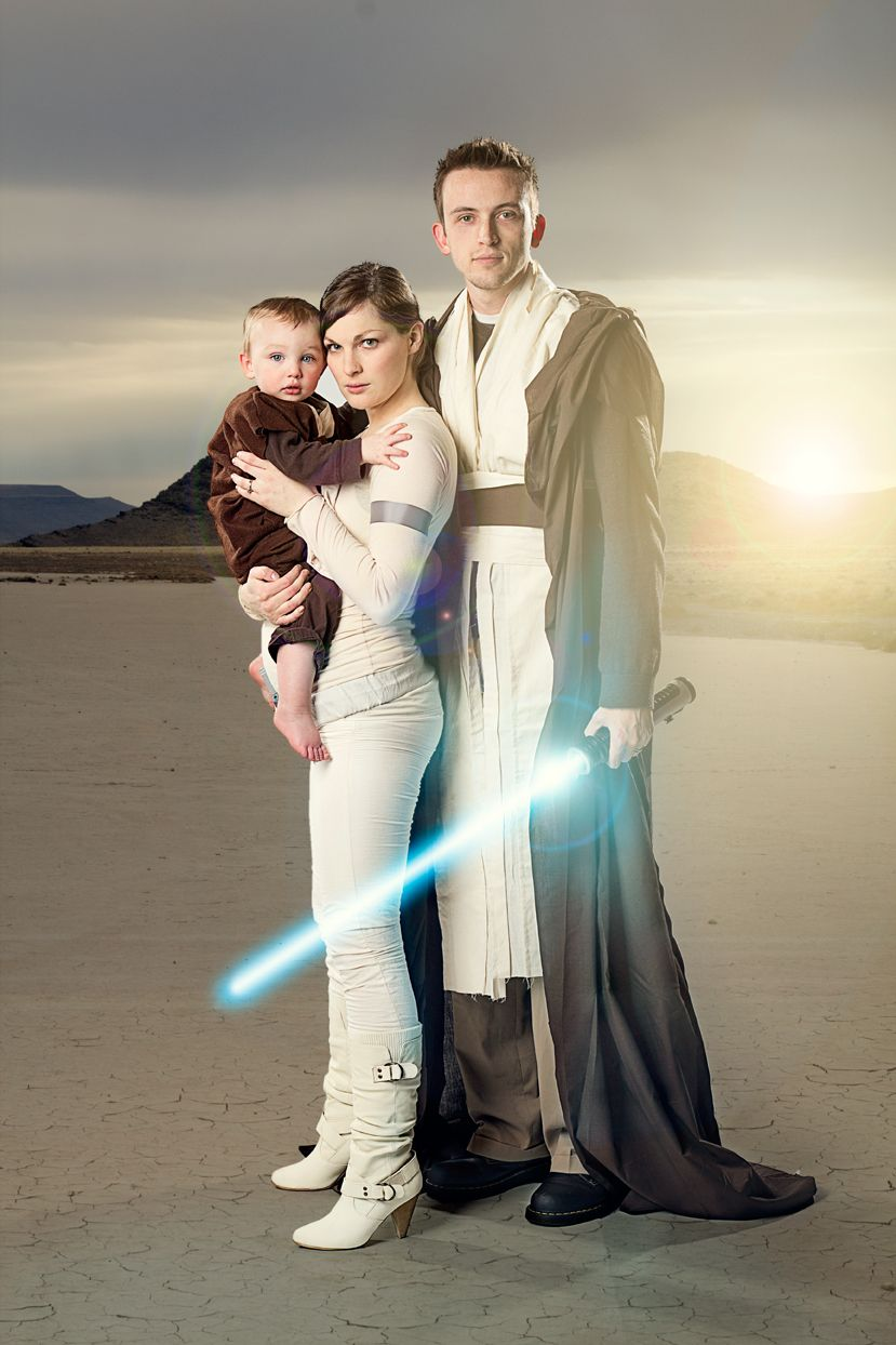 My family photos , Star Wars , Anakin, Padme and Luke