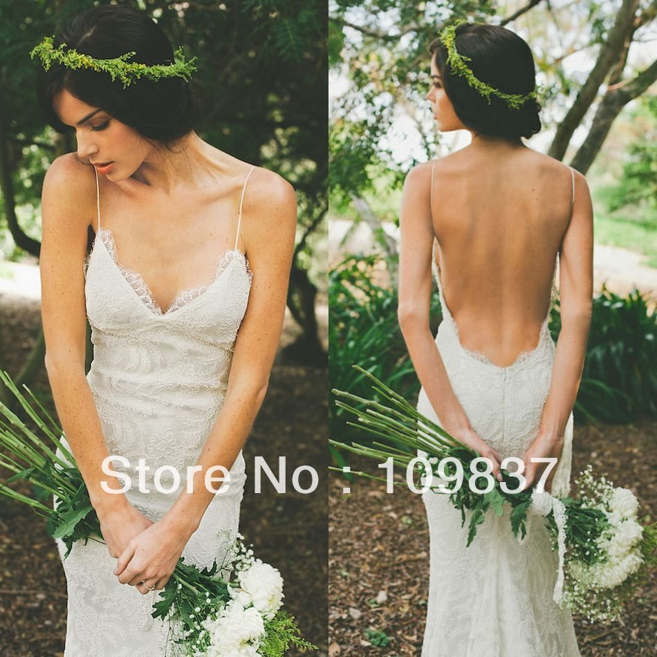 Wedding dresses springfield mo  Trouwjurk  Oooooh Dress  Pinterest  Backless lace wedding dress
