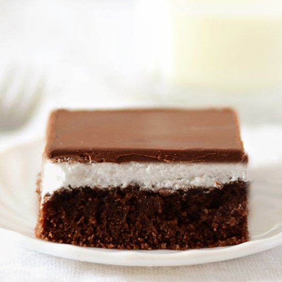 Chocolate Marshmallow Cake Super Moist Sponge With Topping And Secret Foolproof Glaze