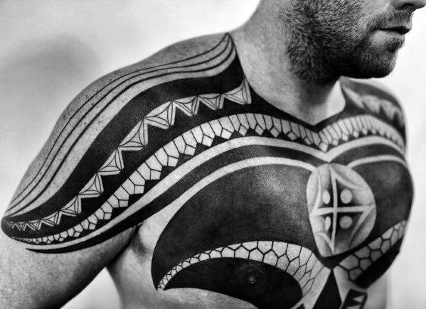 From neck to abdomen, discover the top 90 best chest tattoos for men. Get  manly upper body designs and ideas for inking the canvas on your chest.