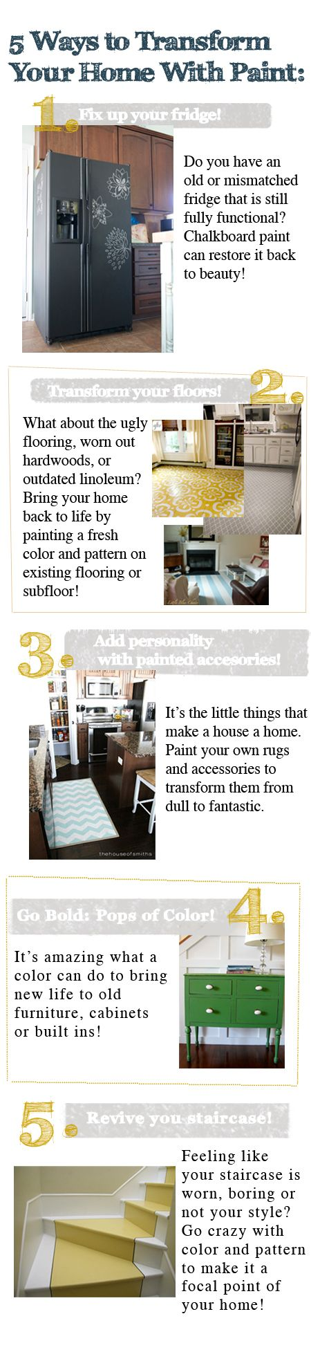 Paint: It\'s Not Just For Walls | Paint ideas, Rounding and Creative
