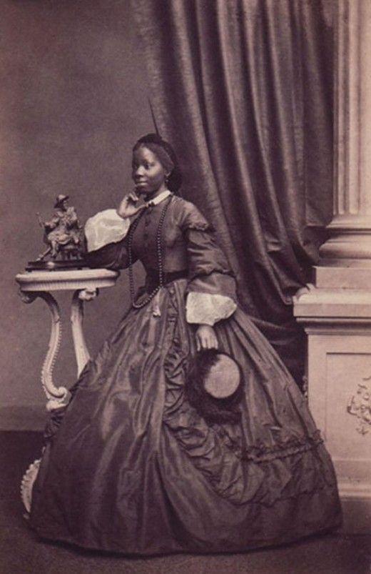 Portrait of Princess Sarah Forbes Bonetta taken by French