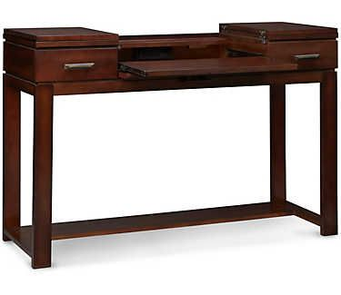 Miramar Sofa Table   Desk   Art Van Furniture