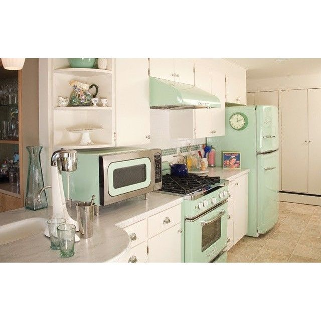 Mint Green Kitchen Appliances: The Retro Kitchen Appliance Product Line