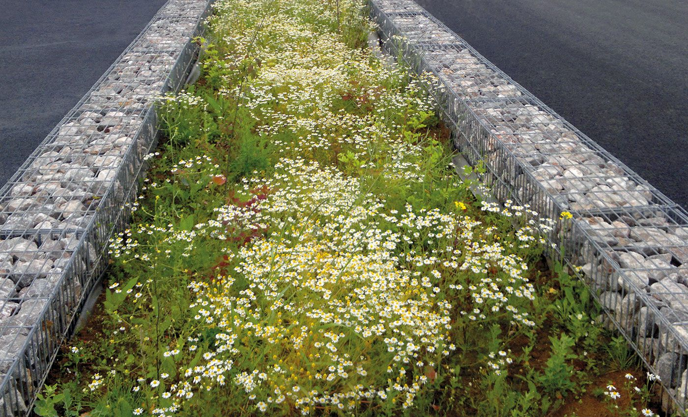 Beautiful Granite stormwater drainage swale u retaining wall http snwrockwalls au Stormwater Pinterest Urban design
