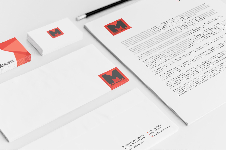 Stationery Mockup 01 Original Mockups Stationery Mockup Branding Identity Mockup Mockup Free Psd