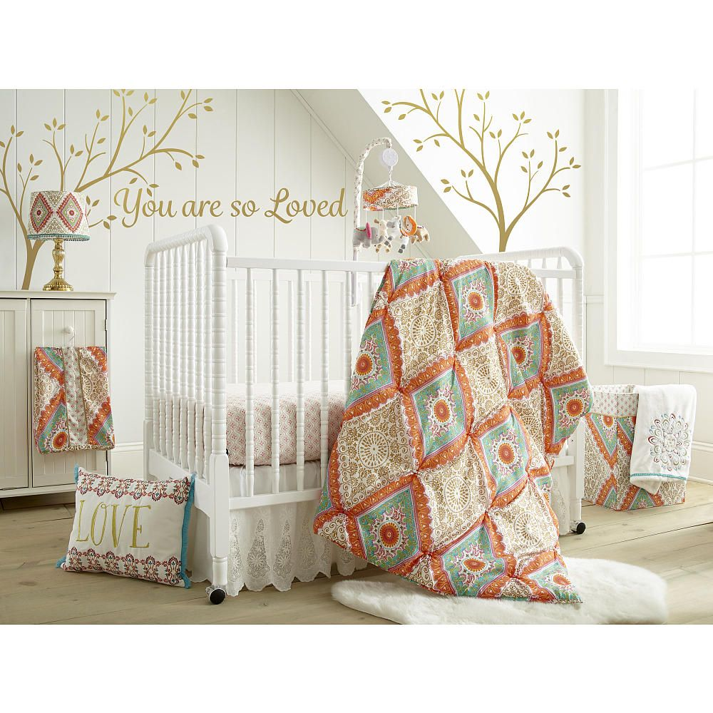 Crib protector babies r us - Babies R Us Exclusive The Cassia Nursery Collection Features Soft Brushed Fabric With A Lovely