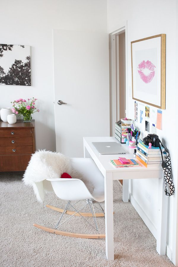 Style At Home Cait Weingartner\u0027s Colorful Chicago Loft Chicago