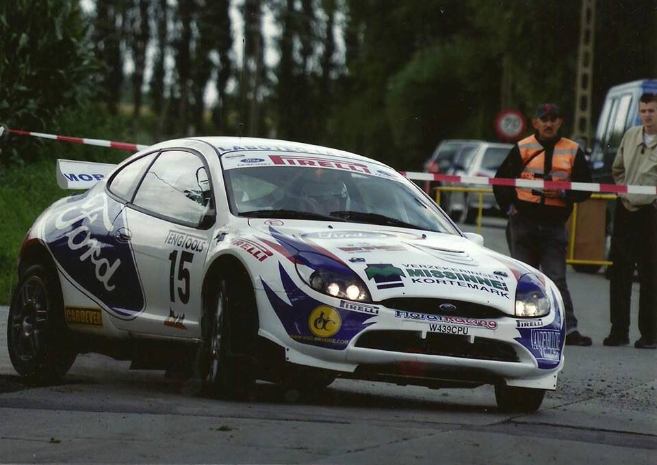 Nicky Grist Yves Preal Ford Puma S1600 Rallye Colin Mcrae