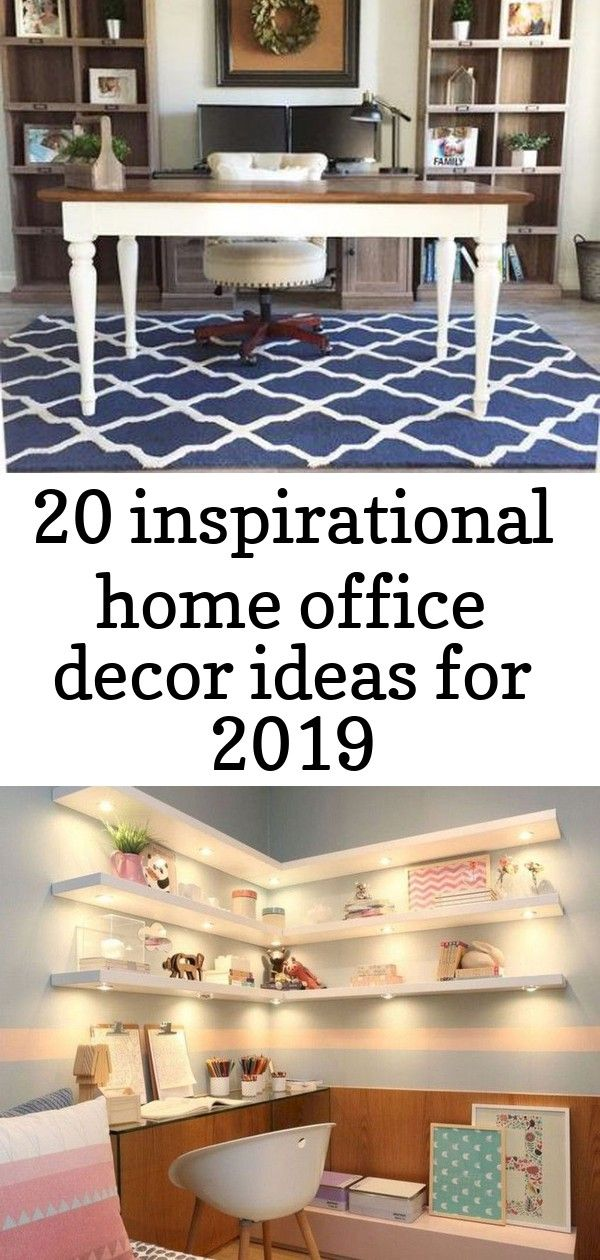 20 inspirational home office decor ideas for 2019 #importantdocuments