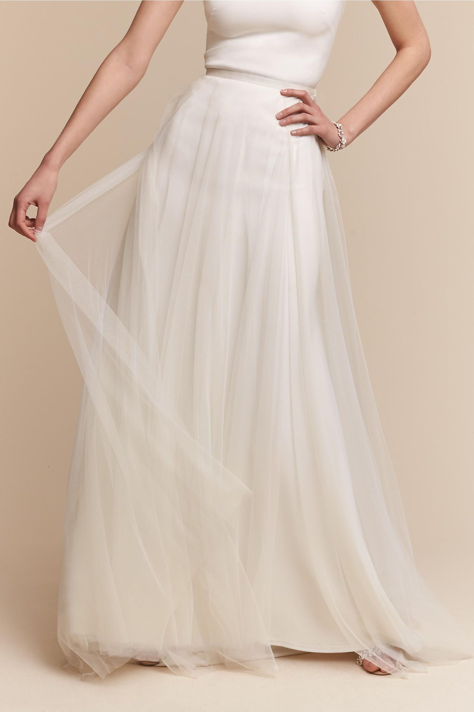 Design Your Own Wedding Dress Online With BHLDNs Build Look Feature Mix And Match Bridal Separates To Create Perfect Gown