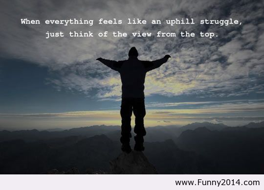 The view from the top quote 2014