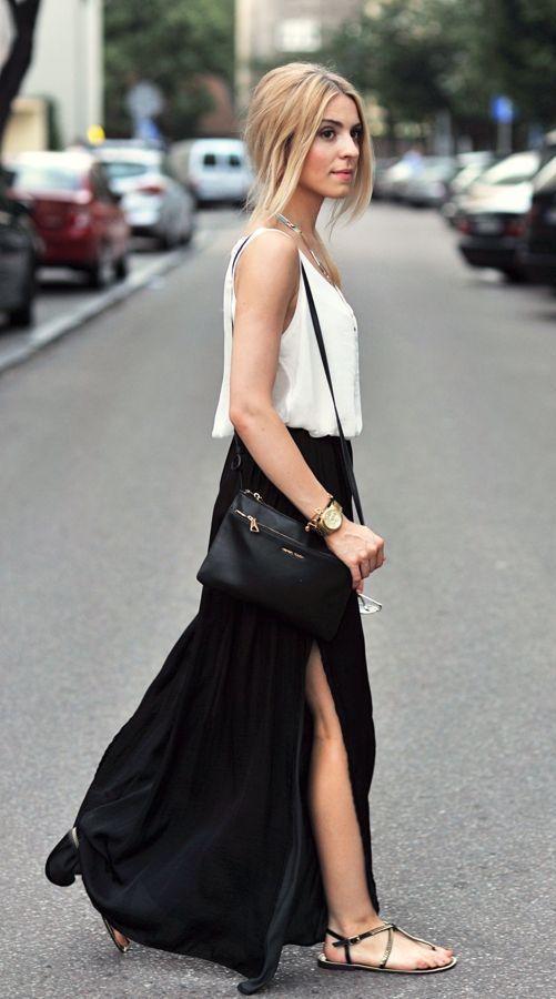 #fall #fashion / black & white