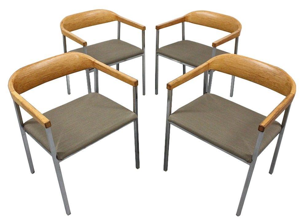 Set 4 Asko Stendig Oak Chairs $650   Chicago Http://furnishly.com