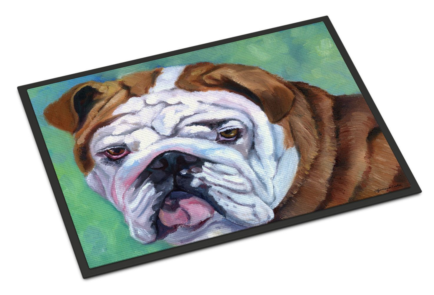 Admiral the English Bulldog Indoor or Outdoor Mat 24x36 7349JMAT