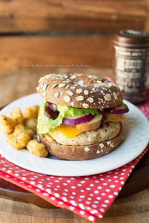 Trader Joe's Coffee BBQ Rub & Sweet Potato Turkey Burgers | Recipe | Easy healthy recipes, Sweet ...