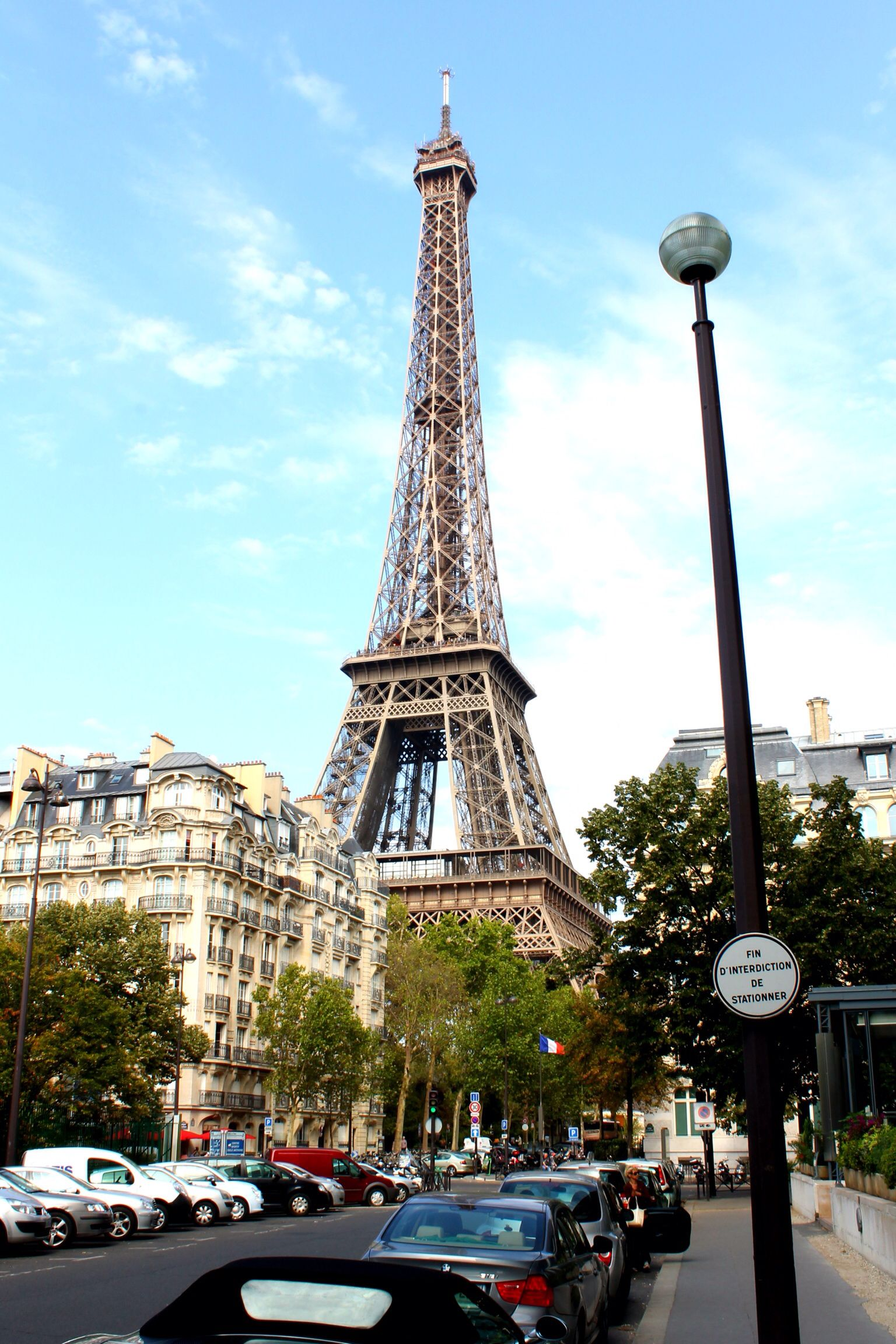 View Of The Eiffel Tower From Front Our Hotel Pullman Tour Paris Eiffeltower