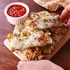 Zucchini Cheesy Bread= Low-Carb Version Of Domino'