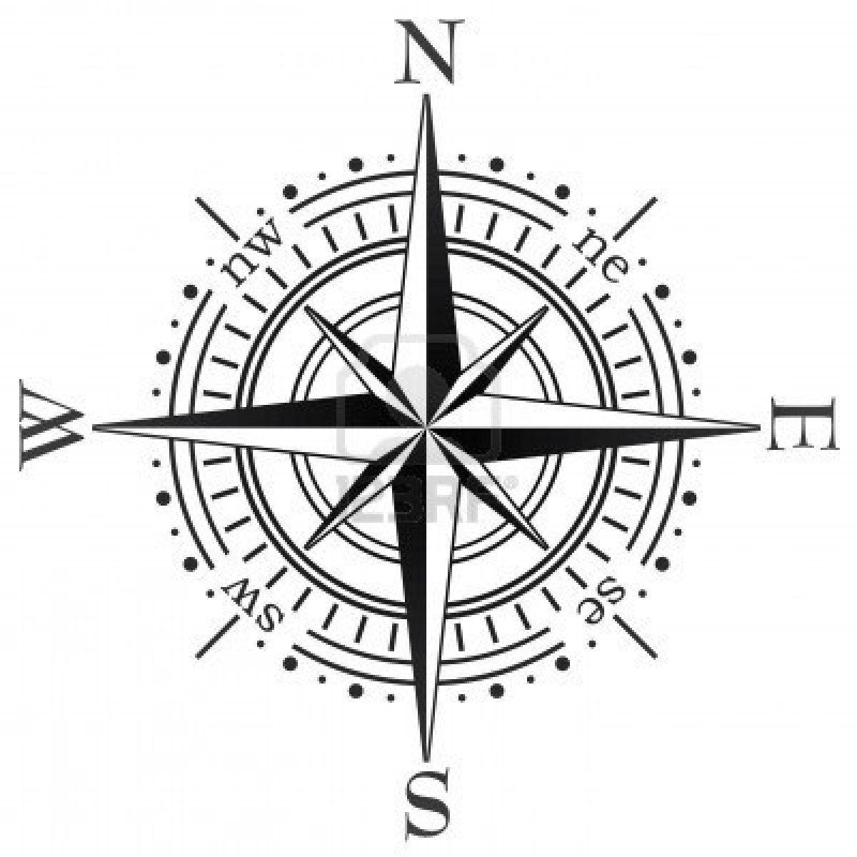 Stock Photo Compass Vector Compass Tattoo Compass Rose Tattoo