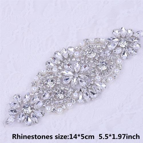 Crystal Wedding Belt Pearl Bridal Belt Rhinestones Sash For Bridal  Accessories Silver Gold and Rose Gold Only Applique NZUK 15f465300bc0