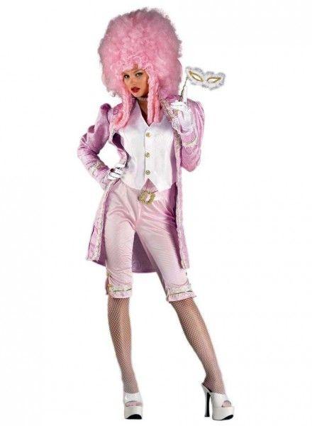 Damen Kostüm Barock Gräfin Jacke weinrot Karneval Fasching Orl