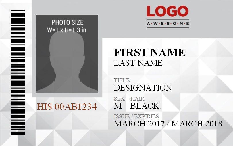 14 free id badge templates word excel pdf templates