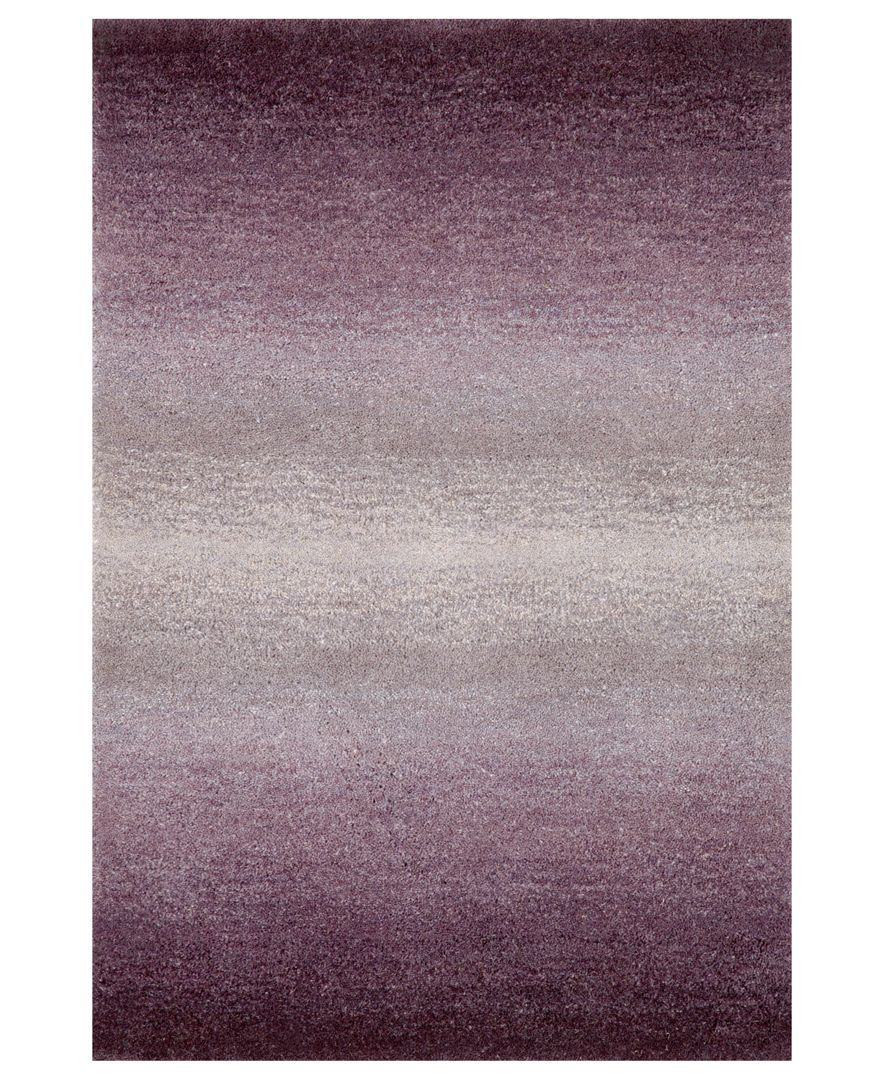 "Liora Manne Area Rug, Ombre 9663/49 Horizon Purple 2'3"" x 8' Runner Rug"
