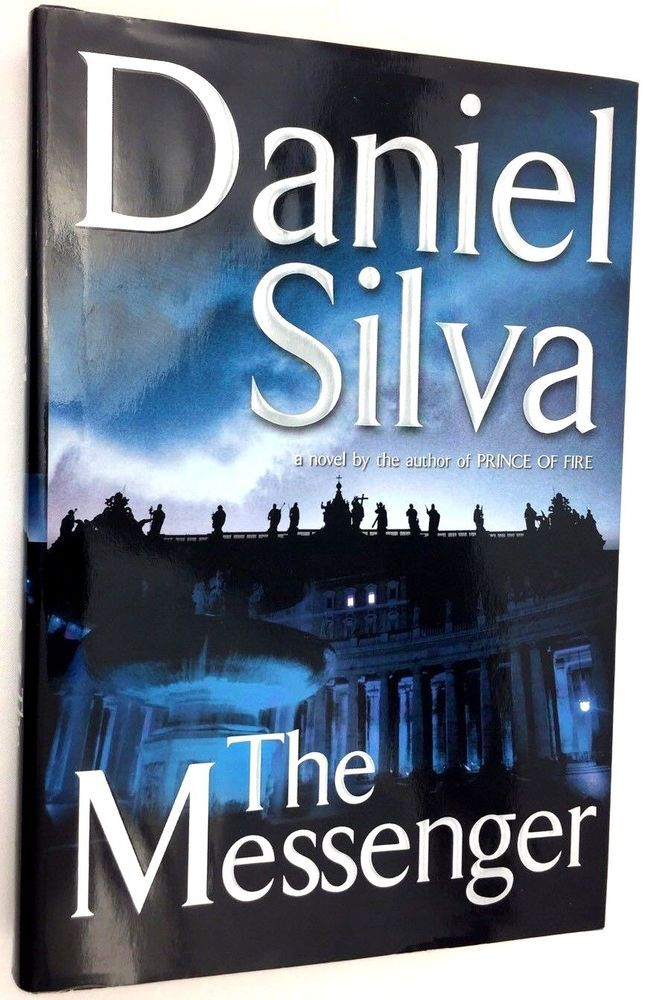 Silva Daniel Messenger Signed 1st Edition Printing First