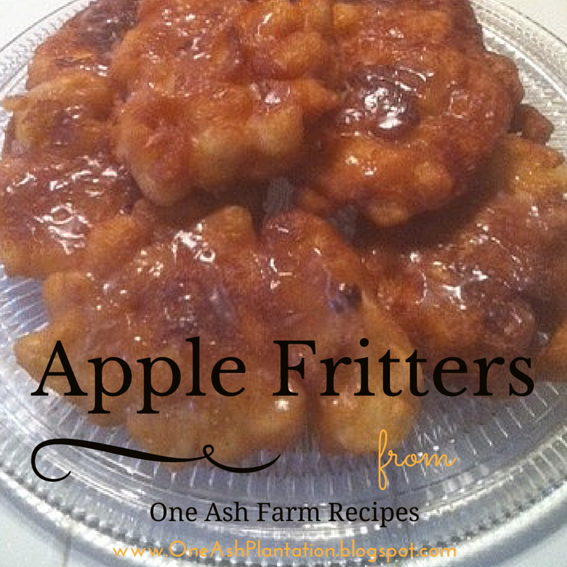 One Ash Farm and Dairy Homestead apple fritters Apple
