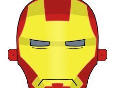 Vasember (Ironman) farsangi álarc