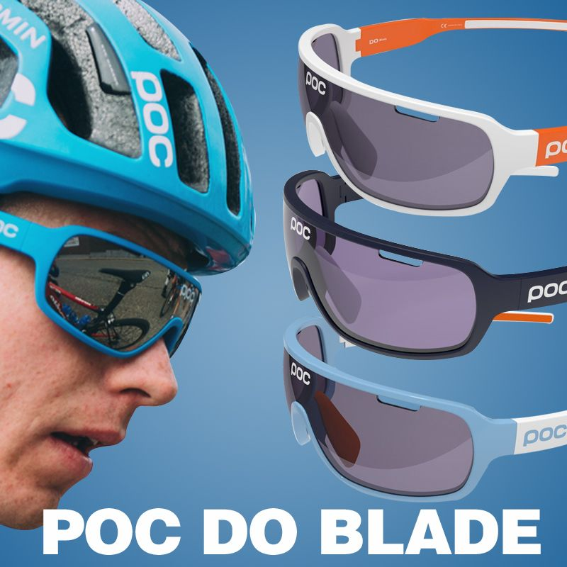 POC polarized sunglasses Sports glasses cycling sunglasses goggles with 3 lens