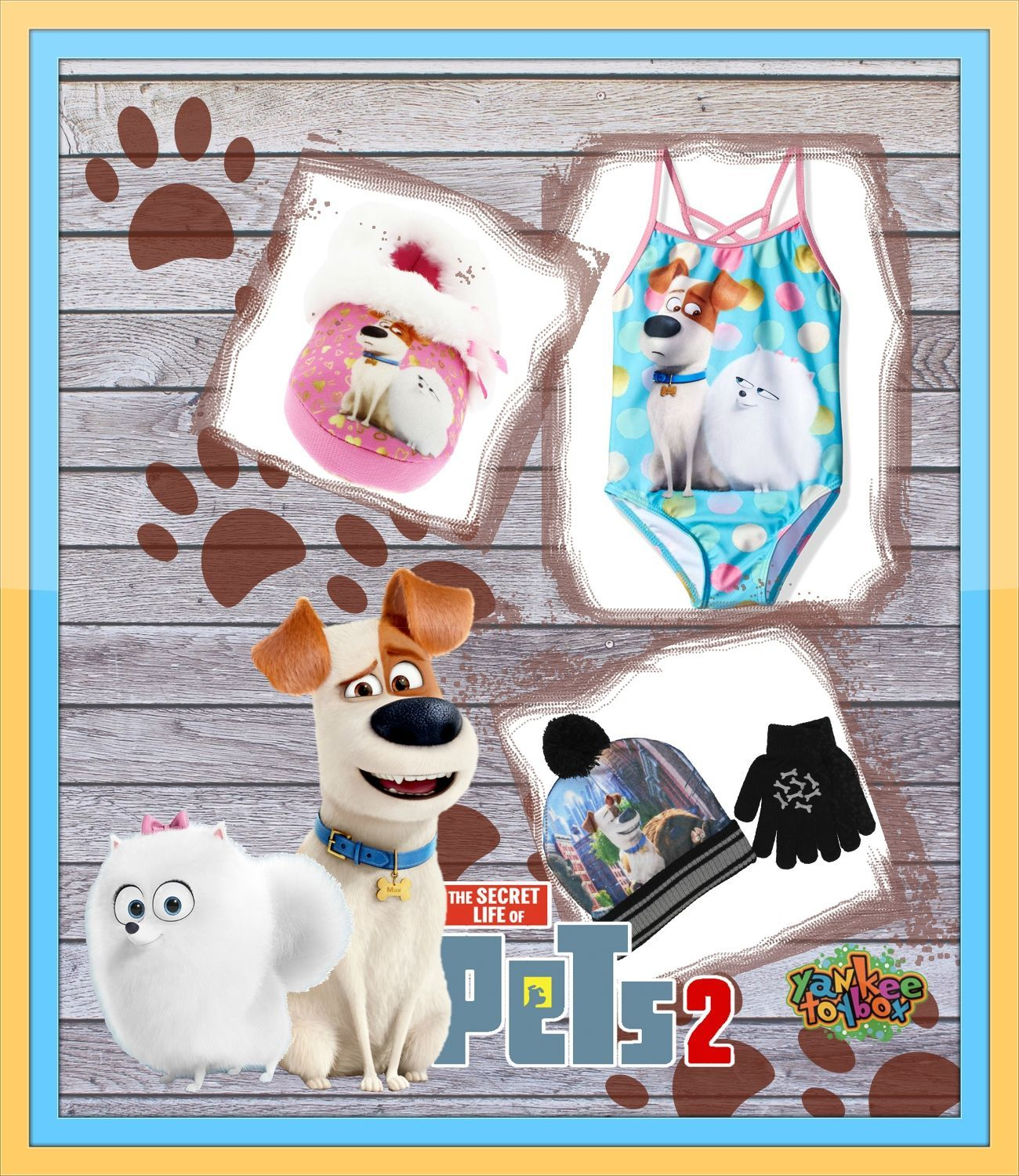 Get Ready For The Secret Life Of Pets 2 In Theaters June 7th With Adorable Apparel Shop At Yankee Toy Box On Amazon These Toy Boxes Pbs Kids Sesame Street