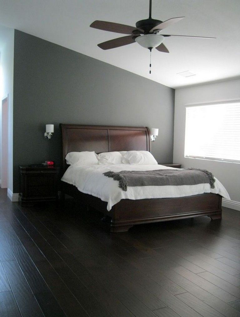 25+ Comfortable Bedroom Design Ideas   Grey bedroom design ...