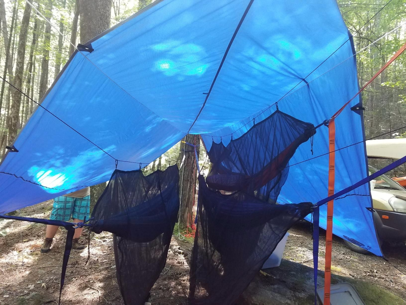Amazon.com Amazon Customeru0027s review of CHILL GORILLA 12u0027 HAMMOCK RAIN FLY TENT & Amazon.com: Amazon Customeru0027s review of CHILL GORILLA 12u0027 HAMMOCK ...