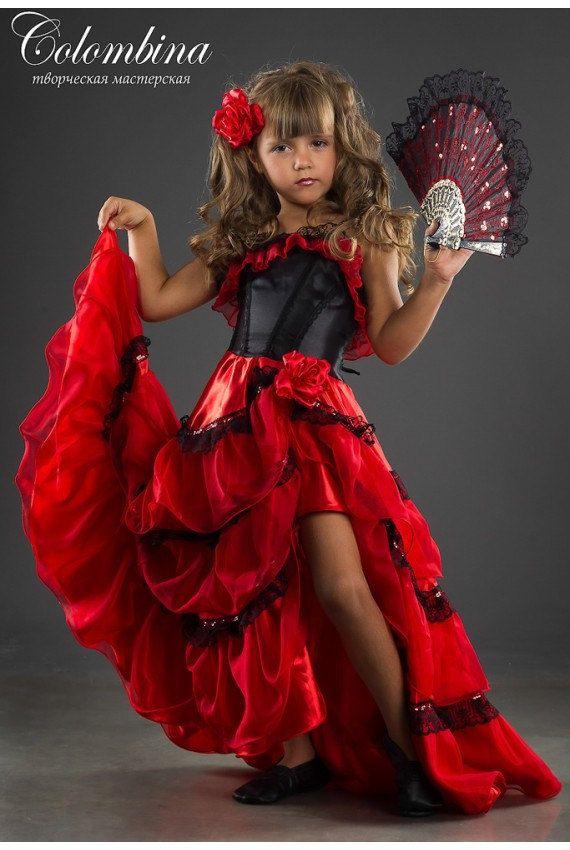 carnaval costume espagnole jeune fille espagnole par artcolombina robe d poque pinterest. Black Bedroom Furniture Sets. Home Design Ideas