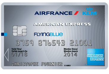 Carte American Express Pro.Carte Air France Klm Amex Silver Gain De Miles Flying