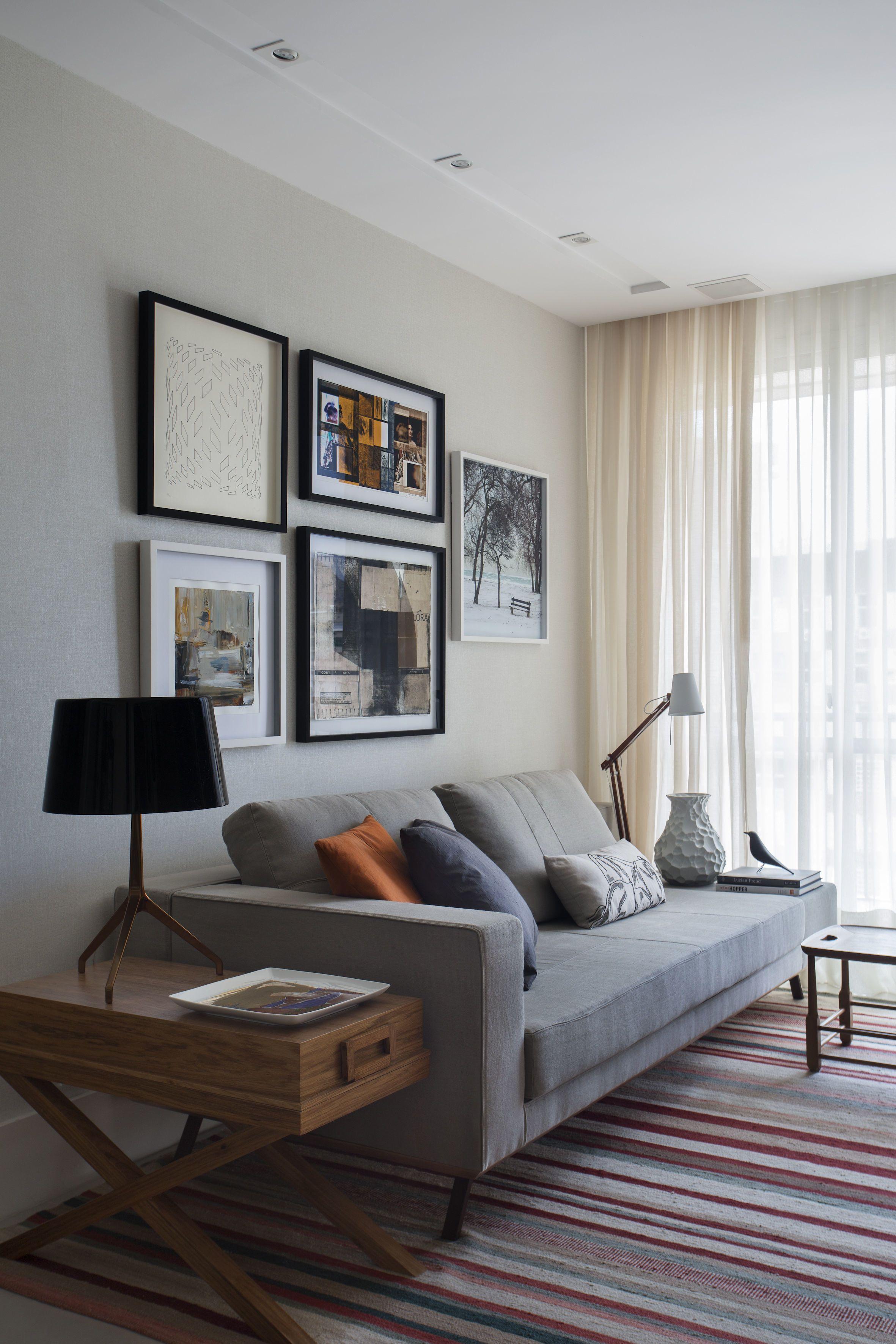 apartamento de 70m2 em botafogo projetado pelas arquitetas cristina