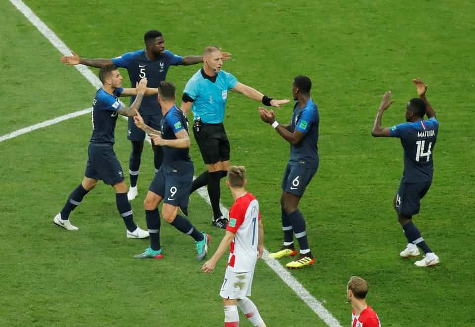 The Best Photos From France S World Cup Final Win Over Croatia World Cup World Cup Final World Cup Russia 2018