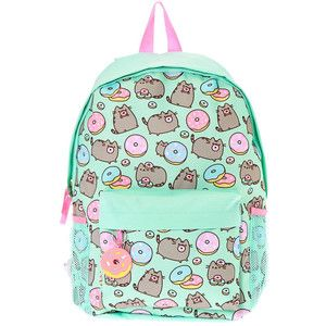 Pusheen Donut Print Backpack Claire S