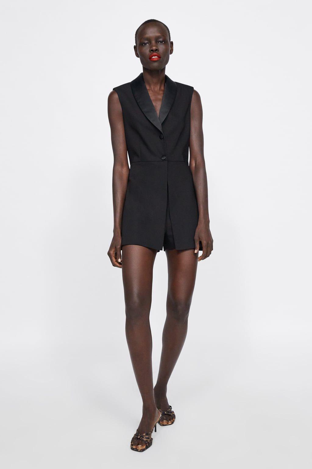 93d93f8613 MONO BLAZER in 2019 | Fashion | Zara jumpsuit, Blazer fashion ...