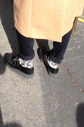 Leopard Socks - possibly Happy Socks