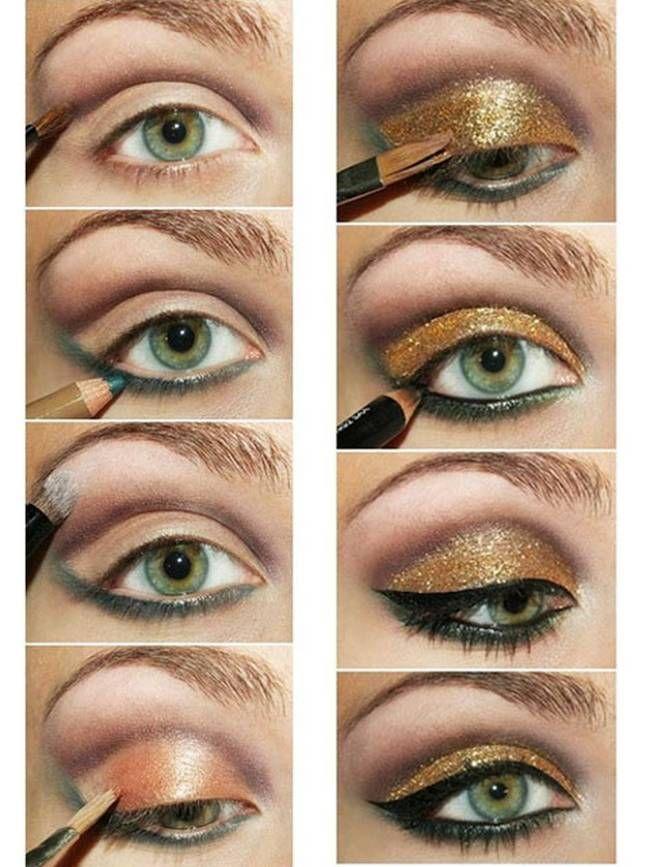 9 Different Eyeliner Looks Glamorous Eye Makeup Pinterest Eye