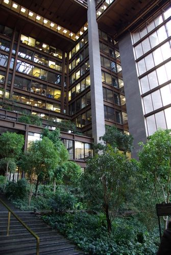 Ford Foundation Building New York City Kevin Roche