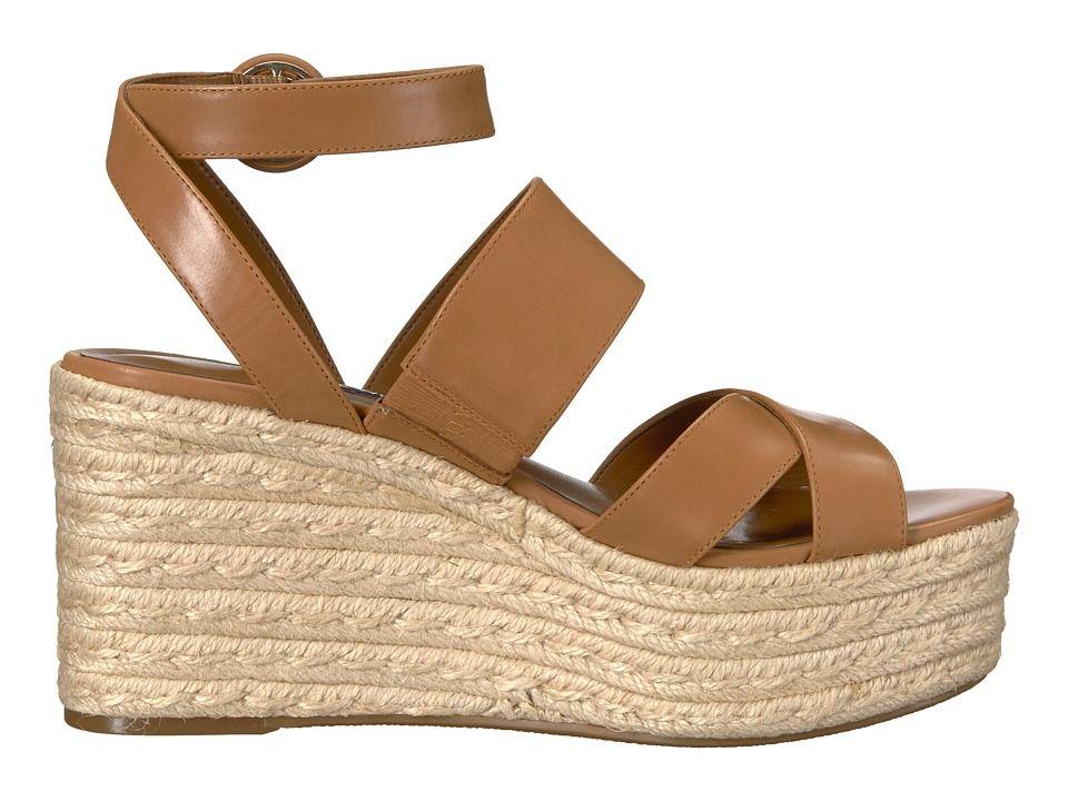 c793570031d Nine West Kushala Women s Shoes Dark Natural Leather. Nine West Kushala  Espadrille Wedge Sandal ...