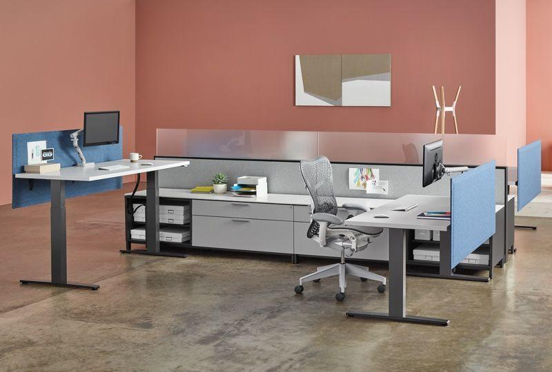 Motia Standing Desk Herman Miller Office Workstations