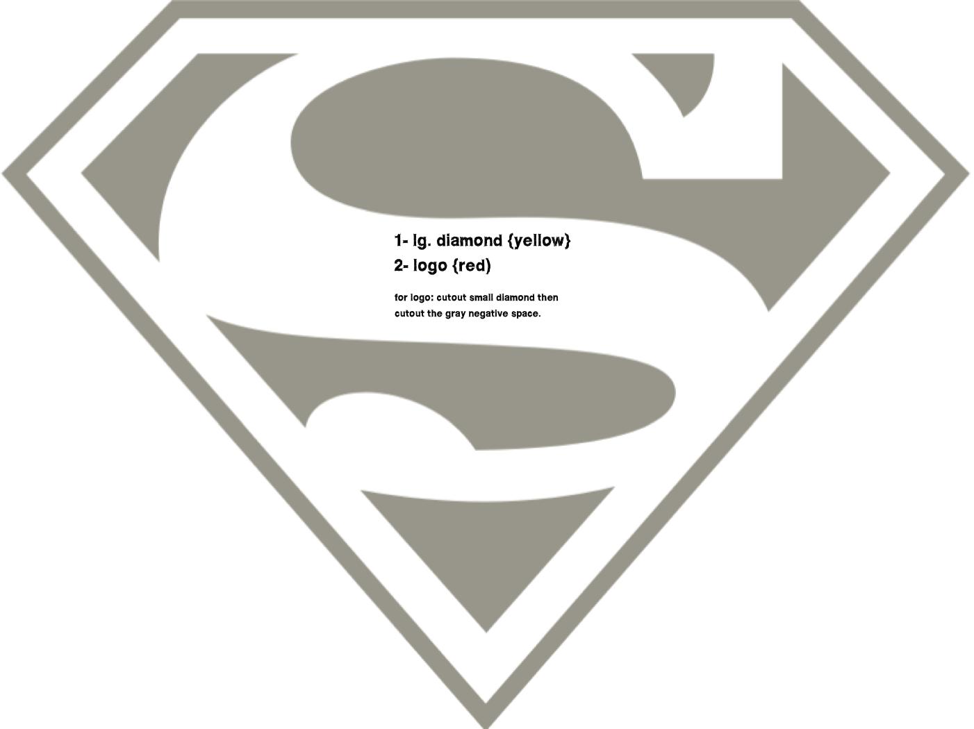 superman-logo.png 1,402×1,050 pixels | Summer Party | Pinterest ...
