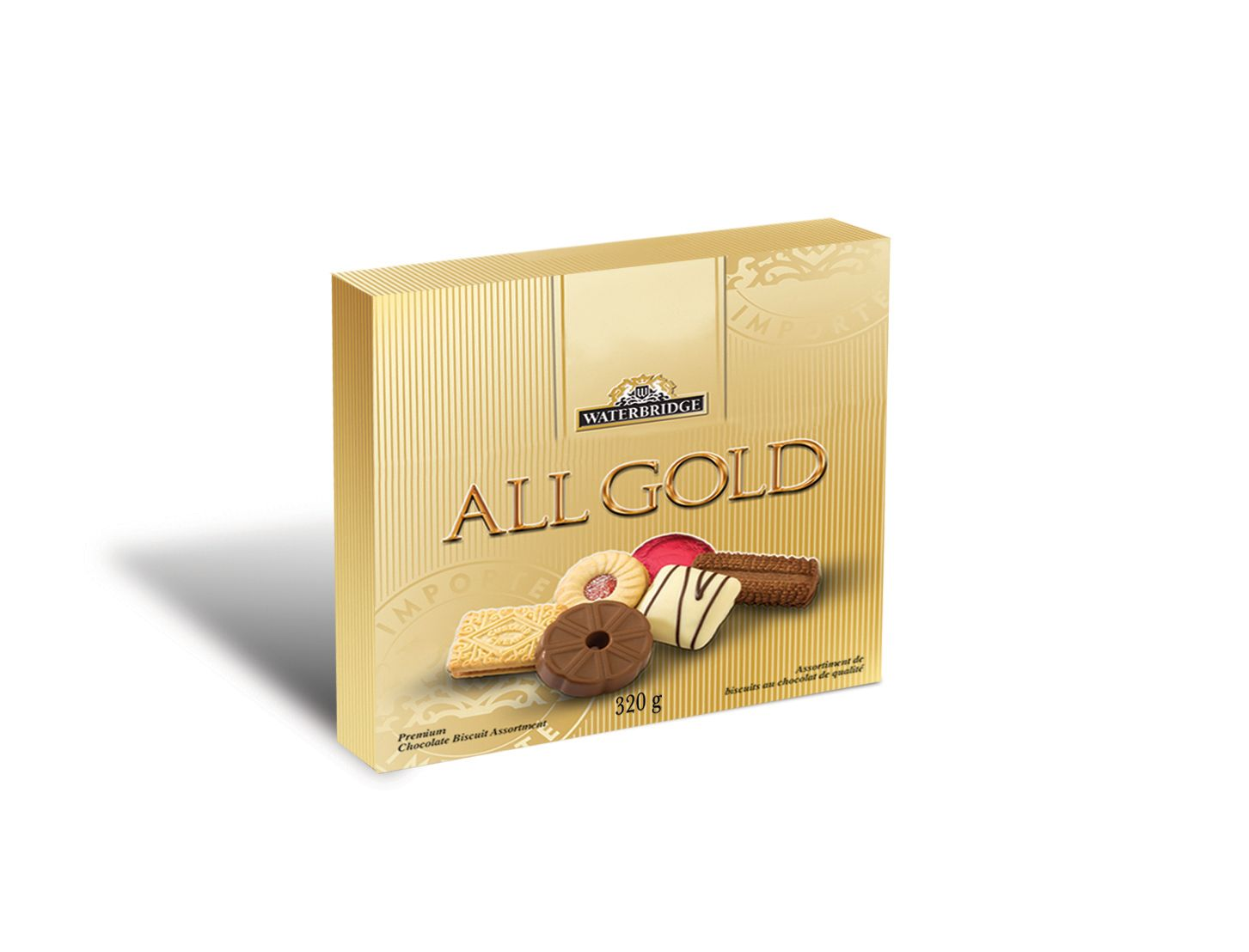 Waterbridge All Gold Carton 320g Nothing Quite Says Happy